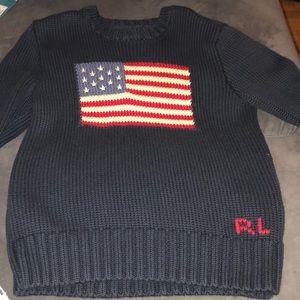 Polo Ralph Lauren kids flag sweater